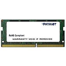 Patriot SO-DIMM 16GB DDR4 2400MHz CL17 Signature Line - Rendszermemória