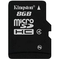 Kingston Micro SDHC 8GB Class 4 Memóriakártya - Memóriakártya