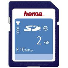 Hama SD 2GB Class 4 - Memóriakártya