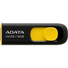 ADATA UV128 16GB fekete-sárga - Pendrive