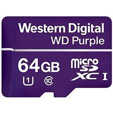 WD Purple MicroSDXC 64GB UHS-I U1 - Memóriakártya