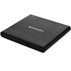 Verbatim Mobile DVD ReWriter USB 2.0 Black (Light version) - Külső DVD meghajtó