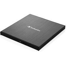 VERBATIM Külső Ultra HD 4K Slimline Blu-ray író - Külső DVD meghajtó
