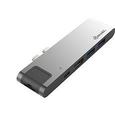 Gmobi USB-C Hub GN29L Silver - USB Hub