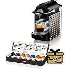 Krups Nespresso Pixie Electric Titan XN300510 - Automata kávéfőző