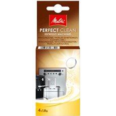 Melitta Perfect Clean eszpresszóhoz, tablettás kiszerelés, 4x1.8g - Vízkőmentesítő