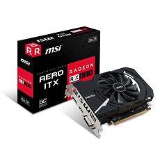 MSI Radeon RX 550 AERO ITX 4G OC - Videokártya