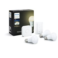 Philips Hue White 8.5W E27 starter kit - LED izzó