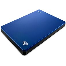Seagate BackUp Plus Slim Portable 2TB kék - Külső merevlemez