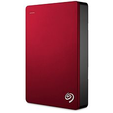 Seagate BackUp Plus Portable 5TB piros - Külső merevlemez