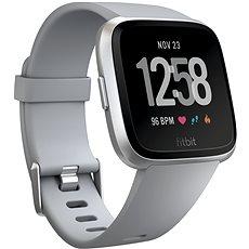 Fitbit Versa, szürke/ezüst alumínium - Okosóra
