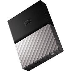 """WD 2.5"""" My Passport Ultra Metal 2TB, fekete-szürke, slim - Külső merevlemez"""