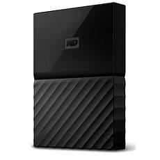 """WD 2,5"""" My Passport 2TB fekete slim - Külső merevlemez"""