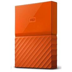 """WD 2,5"""" My Passport 2TB narancssárga slim Külső merevlemez - Külső merevlemez"""