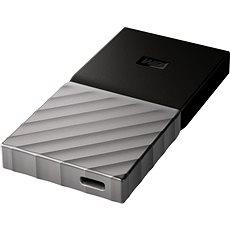 Sandisk My Passport SSD 256GB ezüst-fekete - Külső merevlemez