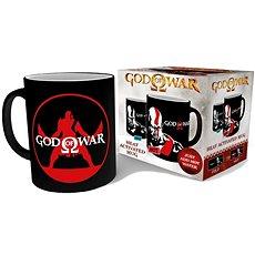 God of War - Kratos heat mug - Bögre