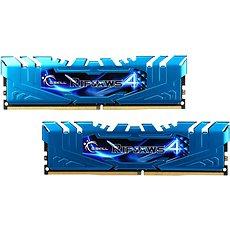 G.SKILL 16GB KIT DDR4 3000MHz CL16 Ripjaws4 - kék - Rendszermemória