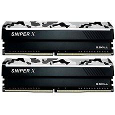 G.SKILL 16GB KIT DDR4 3400MHz CL16 Sniper X for AMD - Rendszermemória