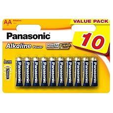 Panasonic AA Alkaline Power LR6 10db - Eldobható elemek