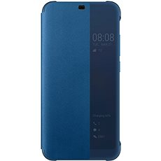 Honor 10 PU Flip cover Deep Blue - Mobiltelefon tok