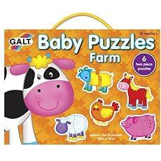 GALT Puzzle a legkisebbeknek - Állatok a farmon - Puzzle