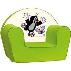 Bino zöld fotel - Kisvakond - Gyerekbútor