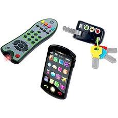 Tech-Too Tech Set Trio - kulcs, távirányító és telefon - Interaktív játék