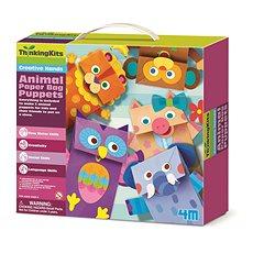 Állatok papírból - Kreatív játék