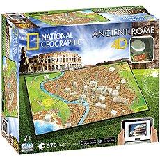 4D Puzzle National Geographic Róma - Puzzle