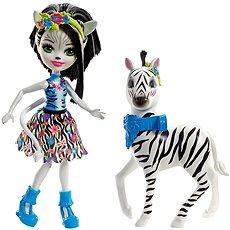 Enchantimals Zelena Zebra & Hoofette - Baba