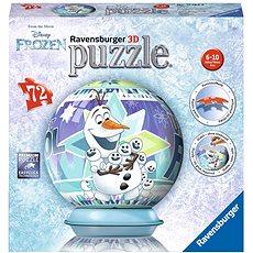 Ravensburger 3D 117642 Disney Jégvarázs Olaf kalandja - 3D puzzle