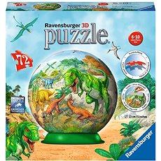 Ravensburger 3D 118380 A dinoszauruszok világa - 3D puzzle