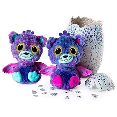 Hatchimals Surprise iker cicák - Plüssjáték