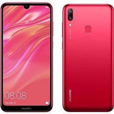 HUAWEI Y7 (2019) piros - Mobiltelefon
