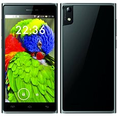 iGET Blackview Arrow Black - Mobiltelefon
