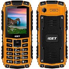 iGET Defender D10 narancssárga - Mobiltelefon