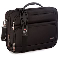 "i-Stay 15.6"" & up to 12"" Clamshell laptop/tablet bag Black - Laptoptáska"