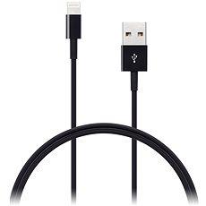 CONNECT IT Wirez Lightning Apple 1 m fekete - Adatkábel