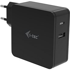 I-TEC USB-C Charger 60W + USB-A Port 12W - Univerzális hálózati adapter