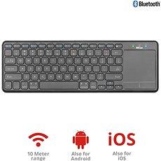 Trust Mida Wireless Bluetooth Keyboard with XL touchpad - Billentyűzet