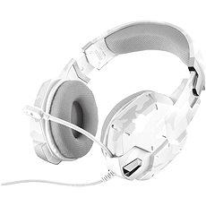 Trust GXT 322c Gaming Headset White Camouflage - Gamer fejhallgató