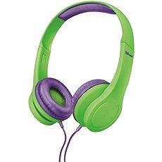 Trust Bino Kids Headphone green - Fej-/Fülhallgató