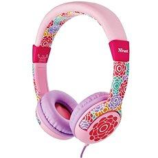 Trust Spila Kids fejhallgató - virág - Fej-/Fülhallgató