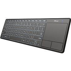 Trust Theza Wireless Keyboard with touchpad US - Billentyűzet