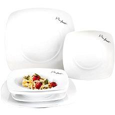 LAMART Dine LT9002 négyszögletű tányérkészlet, 6 darabos - Étkezőkészlet