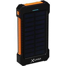 XLAYER Powerbank Plus Outdoor Solar 8000mAh - Powerbank