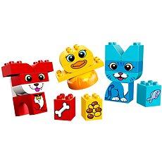 LEGO DUPLO 10858 Első házikedvencek kirakóm - Építőjáték