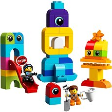 LEGO DUPLO LEGO Movie 2 10895 Emmet és Lucy látogatói a DUPLO bolygóról - Építőjáték