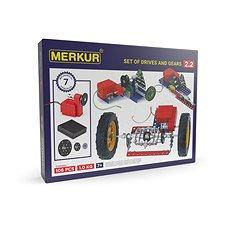 Merkur - elektromotor és áttétel - Építőjáték