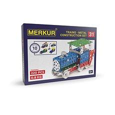 Merkur vasútmodellek 211 darabos - Építőjáték